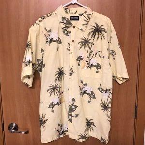 Hawaiian Short Sleeve Button Down